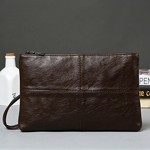 Clutch Retro Coffee Handbag Business Causel Pu Document Men Wallet Nabao px60T7qB