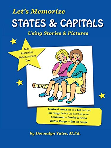 Let's Memorize States & Capitals Using Pictures & ()