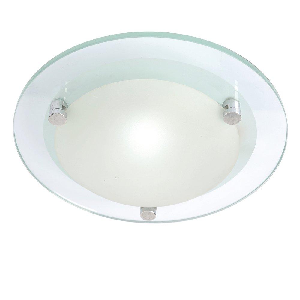 Lacunaria small flush mount glass bathroom ceiling light 3 year lacunaria small flush mount glass bathroom ceiling light 3 year guarantee litecraft amazon lighting audiocablefo