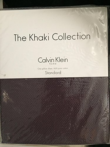 The Khaki Collection Calvin Klein Texture-Glimmer Standard Sham