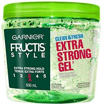 Garnier Fructis Style Pure Clean Styling Gel, All Hair Types, 6.8 oz. (Packaging May Vary) Gar-2273