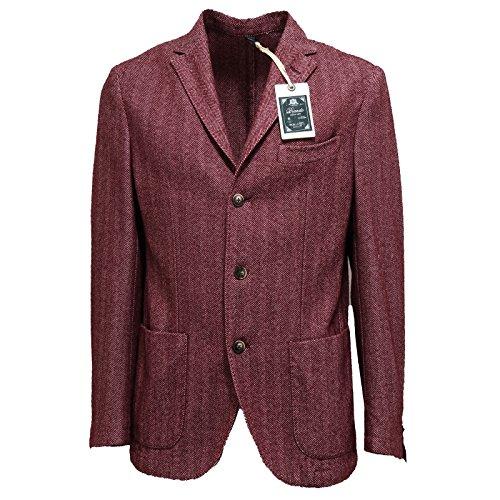 7384l Brando Uomo Cotone Giacca Coats Jackets Lana Bordeaux Men Giacche rqCUrwxTt