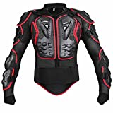 Wishwin Professional Motorcycle Armor Jacket Full Body Protective Gear Shoulder Spine Chest Cool Automotive ATV Dirt Bike Racing