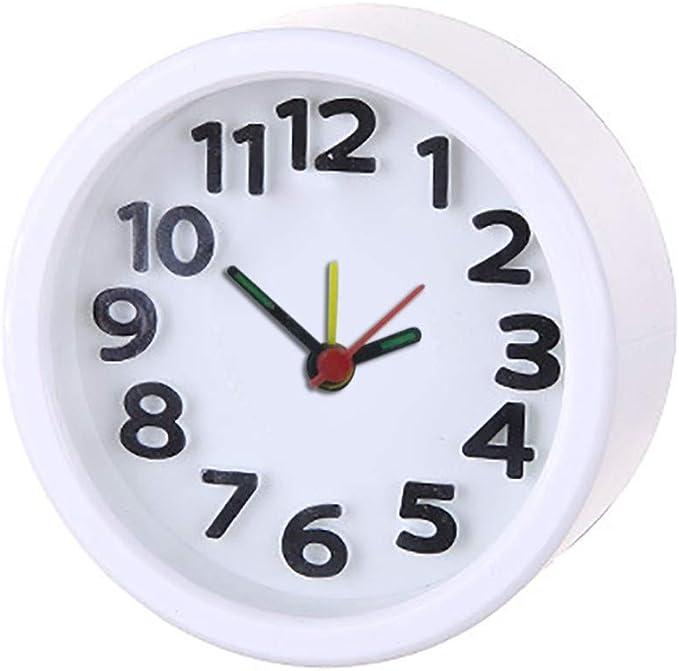 beautyjourney Despertador Analógico de Cuarzo Mini Reloj Portátil ...