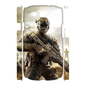WJHSSB Call Of Duty Customized Hard 3D Case For Samsung Galaxy S3 I9300