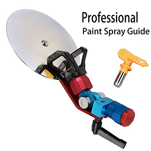 Dutiger 8609095 Spray Guide Accessory Tool Airless Paint Sprayer with 517 Nozzle 7/8 (Aluminum Spray Shield)