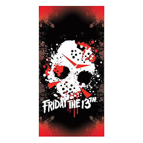 Factory Entertainment Friday The 13th Jason Mask Beach Towel