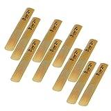 Generic 10 Pcs bB Clarinet Reeds Strength 2.5