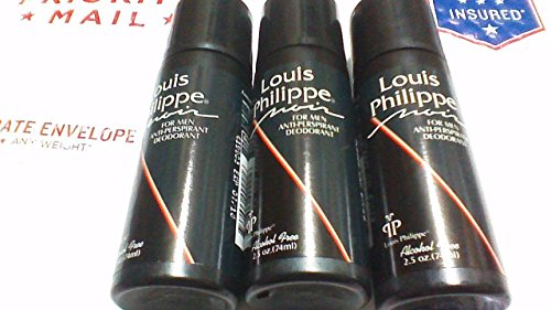 3-louis-philippe-for-men-anti-perspirant-deodorant-noir-scent-25-oz-new-roll-on
