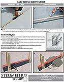 Stegmeier SDDG Deck Drain-Grey