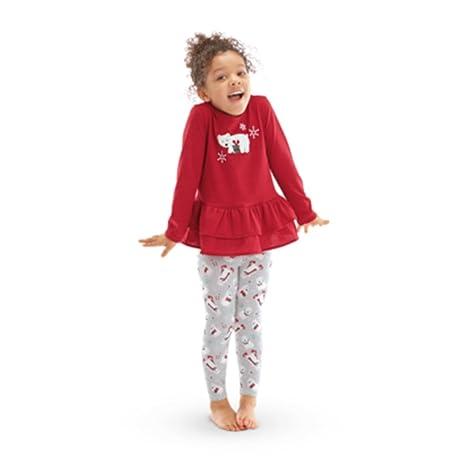 e48026898c90 Amazon.com  American Girl CL BITTY BABY RUFFLED POLAR BEAR PAJAMAS ...