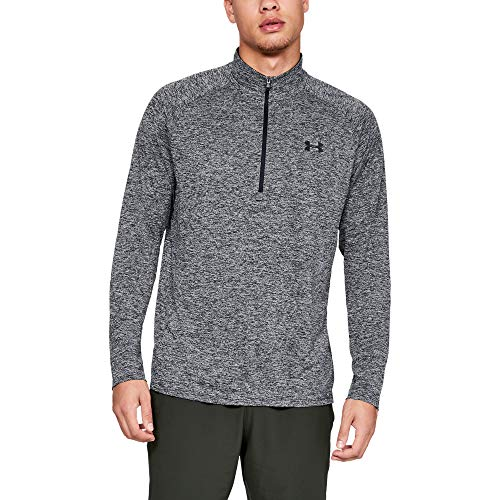Under Armour Men's Tech 2.0 1/2 Zip Versatile Warm Up Top for Men, Light and Breathable Zip Up Top for Working Out