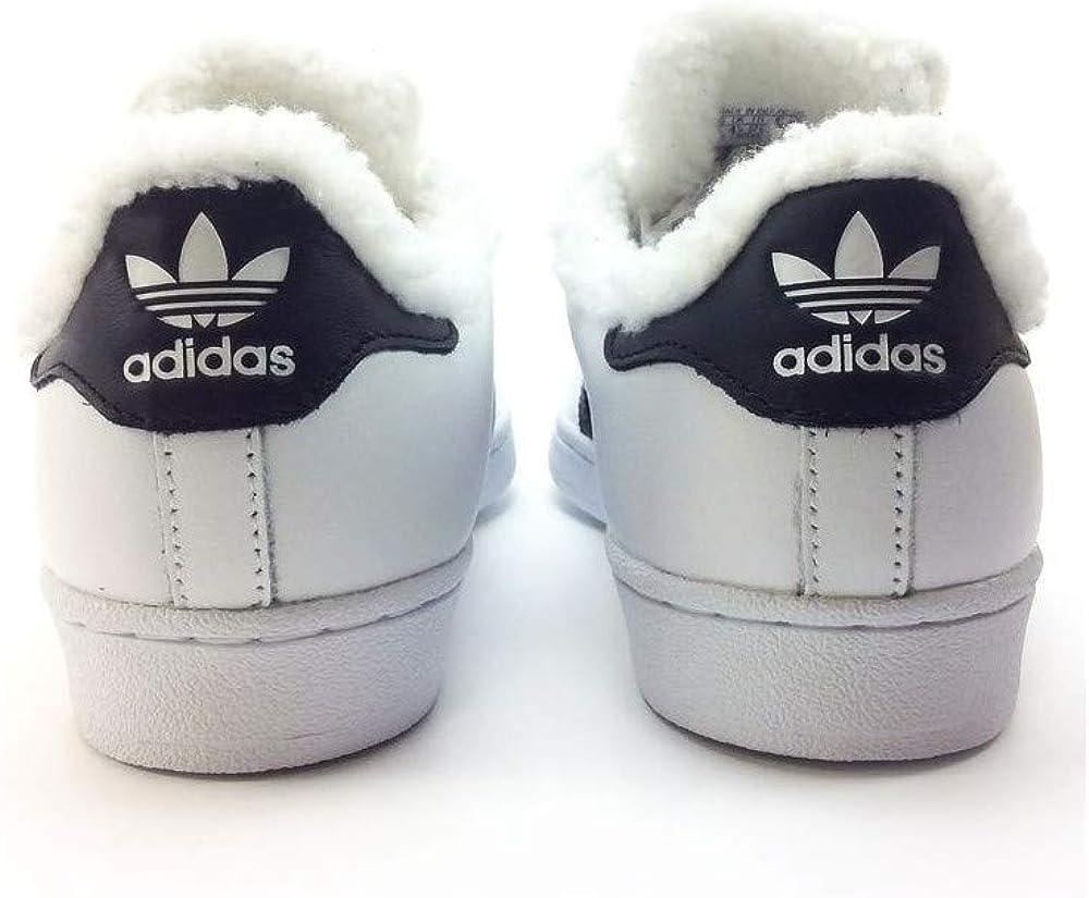 adidas Superstar W, Chaussures de Sport Femme Blanc Ftwbla Negbas Dormet