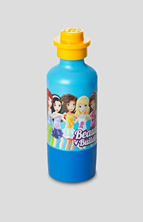 LEGO Friends oscuro Azur azul juguete para niños potable botella 11,5 oz.