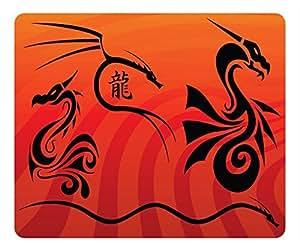 Dragon Design Rectangular Mouse Pad Age of Dragon