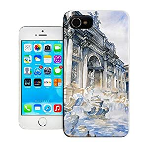 Unique Phone Case Watercolor style architecture#3 Hard Cover for 5.5 inches iphone 6 plus cases-buythecase