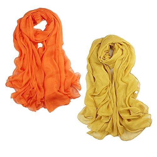 Womens Beautiful Solid Color inches
