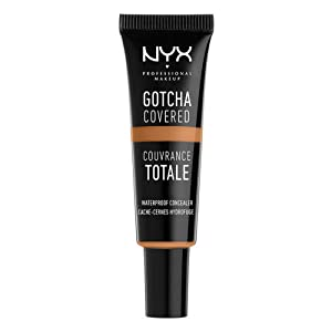 NYX Professional Makeup Gotcha Covered Concealer, Cappuccino, 0.27 Fluid Ounce