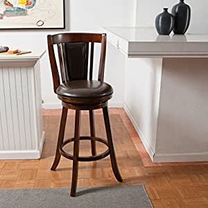 Amazon Com Doncaster 24 In Swivel Counter Stool Kitchen