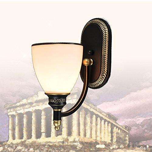 Omped pastorale amã©ricaine de chevet chambre ã  coucher Lampe Murale chaleureux sã©jour Wall Lamp Lampe de dã©coration