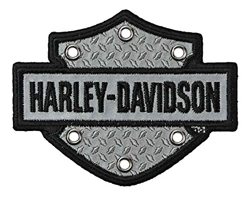 Harley Davidson Embroidered Shield Reflective EM200062
