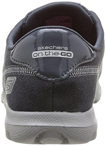 Skechers On The Go, Baskets mode femme Gris (Char)