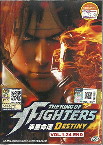 THE KING OF FIGHTERS : DESTINY - COMPLETE ANIME TV SERIES DVD BOX SET (24 EPISODES)
