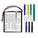 Cameron sino 770mAh Li-ion Battery VF9B, AHL03707002 Replacement For TomTom Start, Start2, 1EX00, Easy, 4EX0.001.11 GPS Navigator With Tools Kit