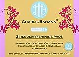 Charlie Banana Reusable Feminine Pads Regular Lavender, Lavender
