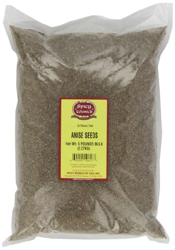 Spicy World Anise Seeds Bulk, 5-Pounds by Spicy World (Image #2)