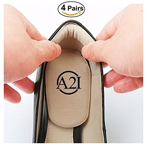 Heel Cushion Inserts (4 Pairs)- Heel Pads, High Heel Cushion, Forefoot Cushion Pads, Pain-Relief, For Men & Women, Includes 8 - Where From Prada Is