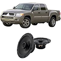 Fits Mitsubishi Raider 2006-2009 Front Door Factory Replacement Harmony HA-R65 Speakers