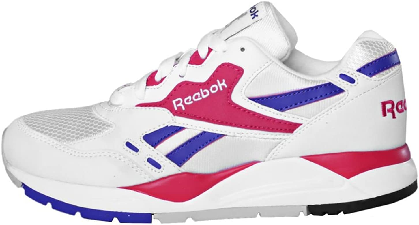 Incontable Peticionario esfuerzo  Reebok Bolton, Chalk-White-Magenta Pop, 6: Amazon.es: Zapatos y complementos