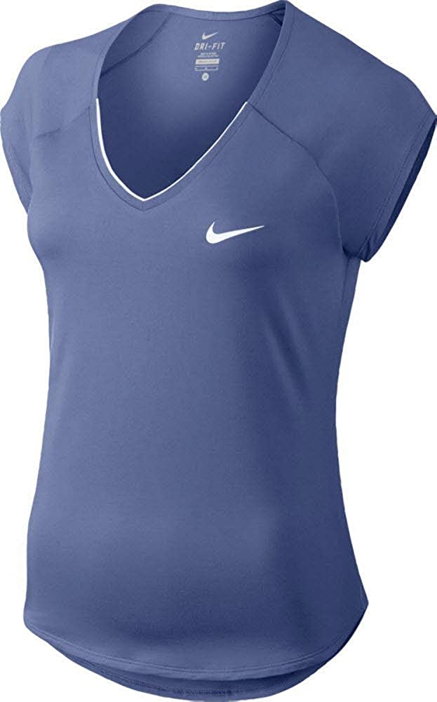 Nike 728757 010, Maglietta Sportiva Donna