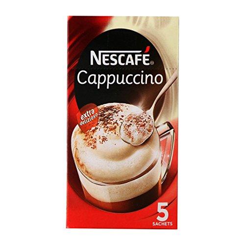 Nescafe Cappuccino – 100g (5 sachets), Pack