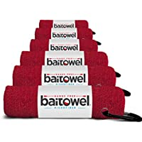 Bait Towel Pack of 6 Microfiber, 16