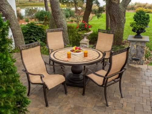 Hanover Monaco Series 5-Piece Dining Set MONACO5PC