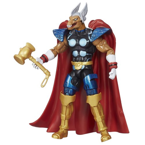 Marvel Avengers Infinite Series Beta Ray Bill Figure - 3.75 Inches