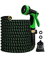 MEACKLE Gardon Hose Water Hose Expandable for Flower Watering, Patio Cleaning, Car Washing