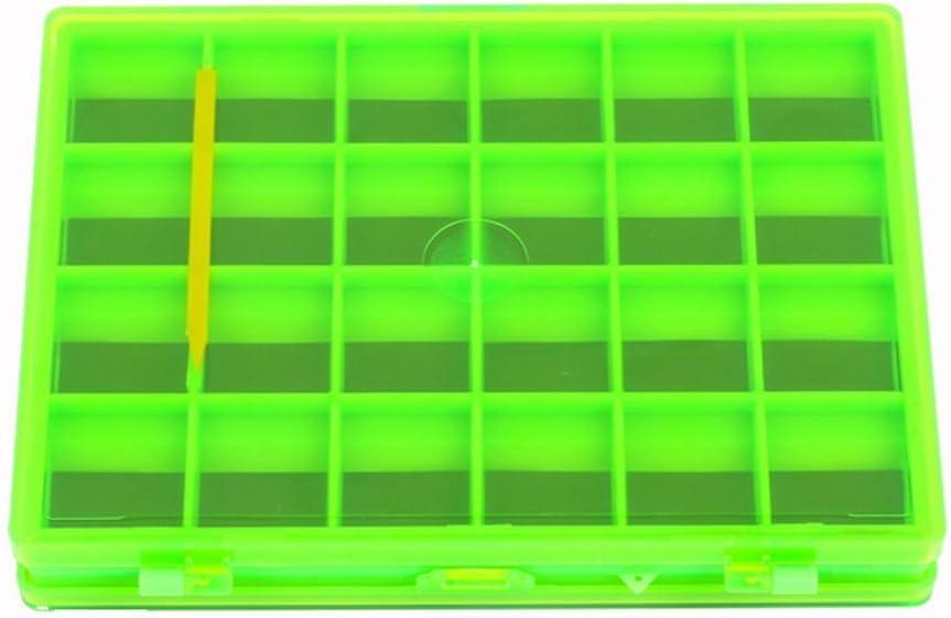 Generic Doppelseitigen Magnetischen Fliegenfischen Box Haken Aufbewahrungskoffer Mit 44 F/ächern