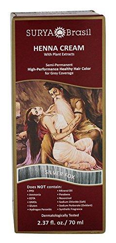 Surya Brasil Henna Cream - Silver Fox - Silver Fox Henna