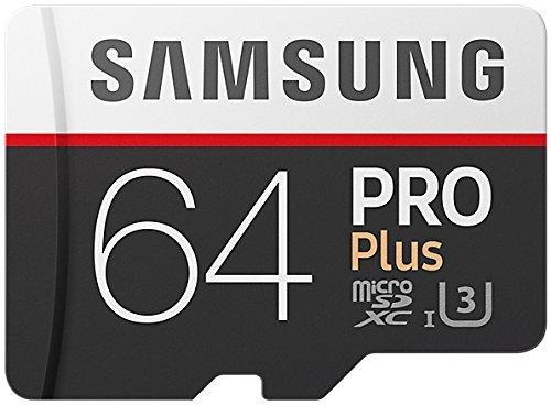 Samsung 64GB PRO Plus Class 10 Micro SDXC