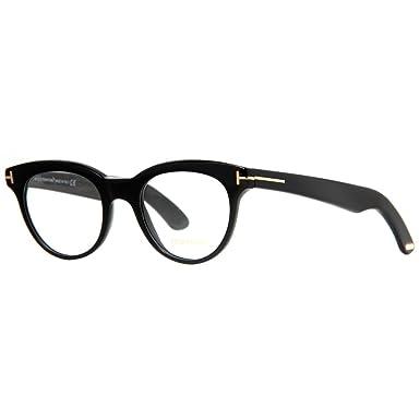 726d80e340 Amazon.com  Tom Ford Eyeglasses TF 5378 Eyeglasses 001 Black 49mm ...