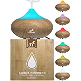 ArtNaturals Essential Oil Diffuser - Auto Shut-off & 7 Color LED Lights Changing for Office & Home