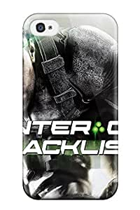 New AkHomrm4839yjcPF Tom Clancy's Splinter Cell Blacklist Game Skin Case Cover Shatterproof Case For Iphone 4/4s