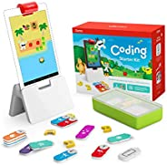 Osmo - Coding Starter Kit for Fire Tablet - 3 Hands-on Learning Games - Ages 5-10+ - Learn to Code, Coding Bas