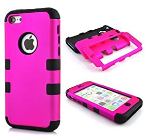 iPhone 5,iPhone 5 Case,Kaseberry iPhone 5 Cases, Hybrid Impact Cover Hard Armor Shell and Soft Silicone Skin Layer skin cover case