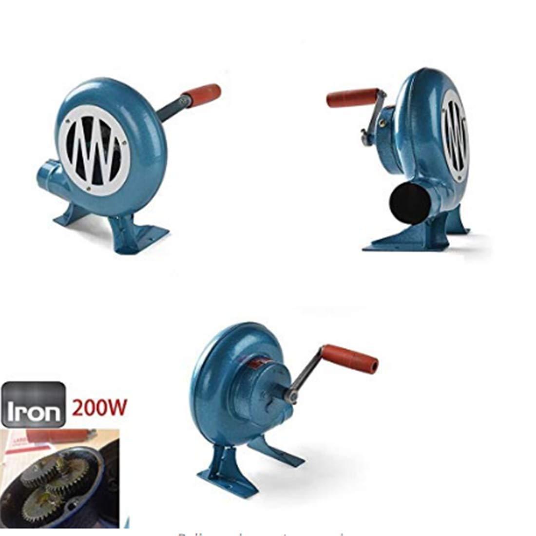 Amazon.com: LINJIN Mano manivela Blacksmith Forge Blower ...