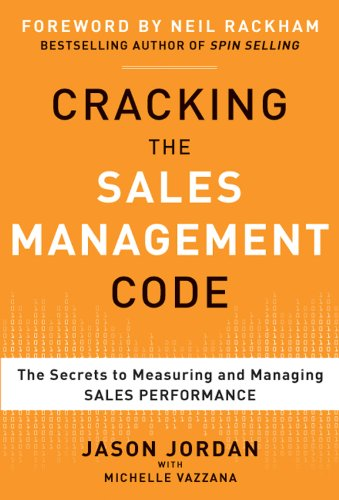 "Boost sales results by zeroing in on the metrics that matter most""Sales may be an art, but sales management is a science. Cracking the Sales Management Code reveals that science and gives practical steps to identify the metrics you must measure to ma..."