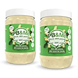 PB&Me - 2-Pack (1LB) - Natural: 100 Percent Peanuts - Powdered Peanut Butter (Sugar-Free) 2 Count